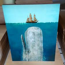 terry fan the whale art print photo printing on wood and photos printed on wood canvas