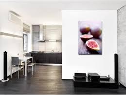 tableau de cuisine moderne tableau figues design pour déco de cuisine moderne pas cher