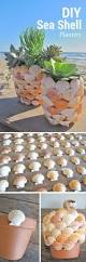 check out the tutorial on how to make diy sea shell planters