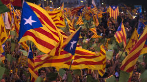 catalonia flies flag for secession from spain