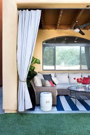 Outdoor Patio Curtain Low Maintenance Backyard Design Ideas The Home Depot