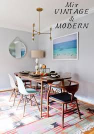Eclectic Dining Room Chairs How To Mix U0026 Match Dining Room Chairs