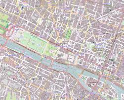 Paris France Map by Paris Map Laminated City Center Street Map Of Paris France New Zone