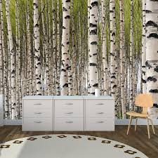 forest wall mural removable wall stickers and wall decals forest wall mural