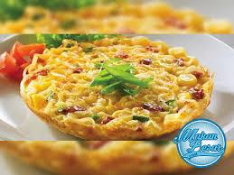 membuat mie dari wortel cara membuat omelet mie resep masakan mie pinterest