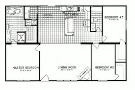 Home Floor Plan by 3 Bedroom Floor Plan C 8206 Hawks Homes Manufactured