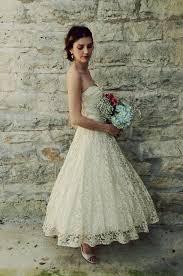 vintage lace wedding dresses tea length naf dresses