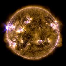 gms first x class solar flares of 2013