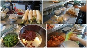 cours de cuisine geneve premier cours de cuisine coréenne kkakdugi samgyetang et yaksik