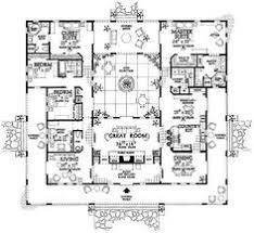 home plans spanish mission style home plan