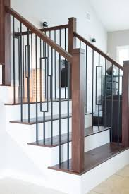 Contemporary Stair Parts by 24 Best Craftsman Style Staircase Remodeling Ideas Images On