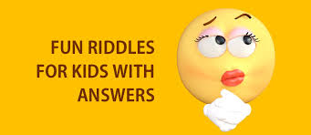 riddles kids funny short easy riddles english