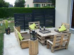 Patio Furniture Pallets by Cool Patio Furniture Ideas Creative And Easy Pallet Furniture