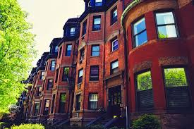 Row Homes by Free Images Tree Architecture Window Town Building Old