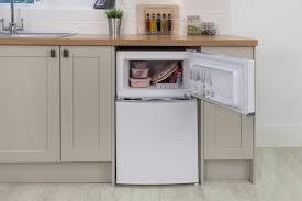 under cabinet fridge and freezer russell hobbs rhucff50w white 50cm wide under counter freestanding