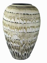 Earth Home Decor by 20 Hand Painted Ceramics Pottery Artisan Earth Tones Vase Designer