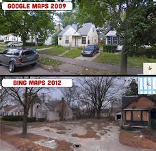 Google Maps Meme The Death And Decay Of Detroit As Seen From The Streets Zero Hedge
