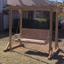 woodworking arbor swing frame plans plans pdf download free