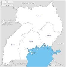 Map Of Uganda In Africa by Explore Www Visituganda Com