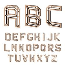 3d letters nogallery 3d wood lettering made in cologne