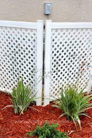 diy lattice fence home u0026 gardens geek