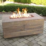 fire pit tables woodlanddirect com outdoor fireplaces