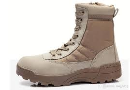 light brown combat boots spring fall super light outdoor working military combat boots