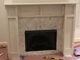 faux fireplace surround