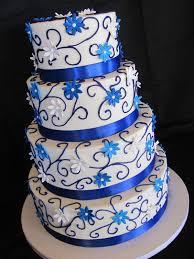 navy blue and white wedding cake u2014 round wedding cakes wedding