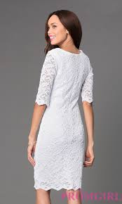 white lace dress with sleeves knee length white lace dress with sleeves knee length dresses