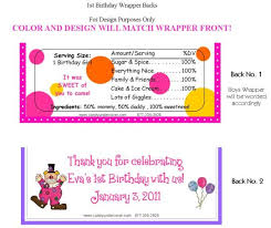 baby minnie mouse 1st birthday baby minnie mouse birthday candy bars 1st birthday candy bar