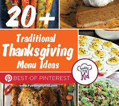 20 traditional thanksgiving menu ideas