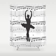 Ballerina Curtains Ballerina Shower Curtains Society6
