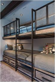 Rails For Bunk Beds 10 Cool Built In Bunk Bed Rail Ideas
