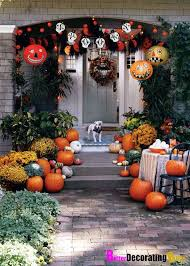 Decorate Your Home For Halloween Mysterious And Creepy Front Porch Decorating Ideas For Halloween