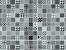 patchwork pattern vector graphics freevector