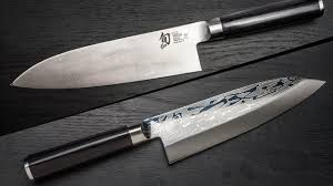 shun kitchen knives shun cutlery classics deba 8 1 2 review chow