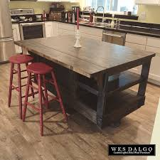 handmade kitchen islands handmade rustic kitchen island or outdoor bar by cowboy creation