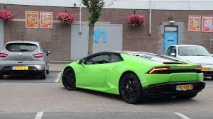 Lamborghini Huracan Lime Green - green lamborghini huracan after doing groceries acceleration and