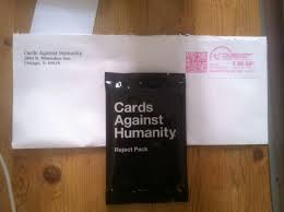 cards against humanity reject pack oh yeah holidaybullshit