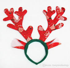 christmas headbands 2017 reindeer antlers headband for party headbands hairband xma
