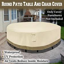 Patio Furniture Covers For Winter - patio table and chair covers round starrkingschool