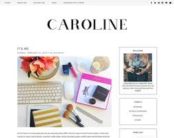templates blogger español feminine premade blogger templates and wordpress by skyandstars