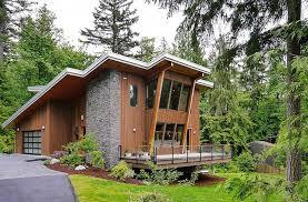 modern cabin floor plans endearing houses demonstrating modern roof designs