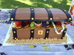 pirate treasure chest cake sara miles