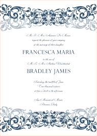free wedding invitation templates for word vintage wedding