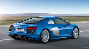 audi r8 wallpaper blue 2016 audi r8 v10 ara blue rear hd wallpaper 2