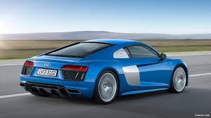 audi r8 wallpaper blue 2016 audi r8 v10 ara blue rear hd wallpaper 2