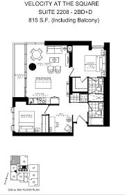 square floor plans luxury apartments in dundas square toronto velocity at the square