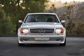 1989 mercedes benz 560sec 6 0 amg widebody looks ready for one way